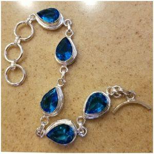 """Jewelry - London Blue Topaz Bracelet 8.5"""""""